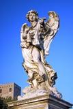 Engel met Plaag, Rome, Italië Stock Afbeeldingen