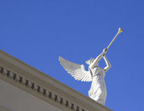 Engel met Trompetten Royalty-vrije Stock Afbeelding