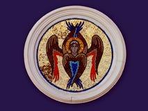 Engel met zes vleugels Royalty-vrije Stock Afbeeldingen