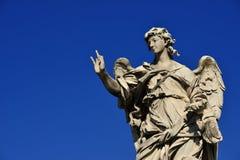 Engel mit den Nägeln Lizenzfreies Stockfoto
