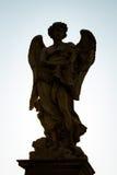 Engel mit den Peitschen Stockbild