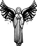 Engel mit Flügeln Stockbilder