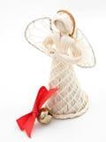 Engel mit Glocke Lizenzfreies Stockfoto