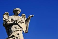 Engel mit heiligem Schleier Stockfotografie