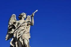 Engel mit heiliger Lanze Stockbilder
