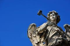 Engel mit Schwamm Lizenzfreies Stockfoto