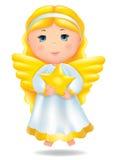 Engel mit Stern Lizenzfreies Stockbild