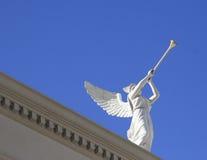 Engel mit Trompeten lizenzfreies stockbild