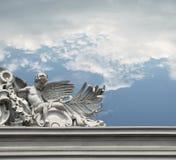 Engel op de bovenkant stock afbeeldingen