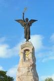 Engel op de bovenkant van het Russalka-Gedenkteken in Tallinn, Estland Stock Afbeelding
