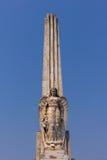 Engel op obelisk Stock Fotografie