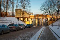 Engel ` s Brücke Inglisild in estnischem Lizenzfreie Stockfotografie