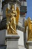 Engel ` s Skulptur Lizenzfreie Stockfotografie