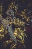 Engel, Schatz, Goldstücke und kostbare Juwelen Stockfoto