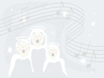 Engel singen Lizenzfreie Stockbilder