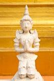 Engel in traditioneel Thais stijl het vormen art. Royalty-vrije Stock Foto's