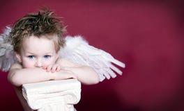 Engel-Valentinsgruß Lizenzfreies Stockfoto