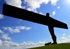 Engel van het Noorden Stock Afbeelding