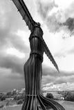 Engel van het Noorden Stock Foto