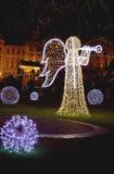 Engel van licht-feestelijk Praag Royalty-vrije Stock Fotografie