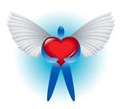 Engel van liefde Stock Foto