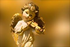 Engel von Musik stockfotografie