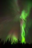 Engel von Nordlichtern Lizenzfreies Stockfoto