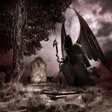 Engel von vergessenen Gräbern stock abbildung