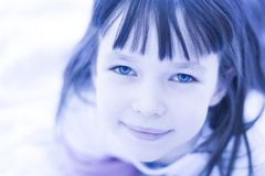 Engelachtig Kind royalty-vrije stock fotografie
