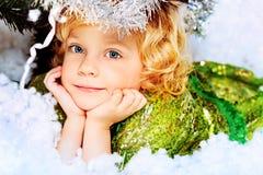 Engelachtig meisje stock fotografie