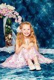 Engelachtig meisje royalty-vrije stock foto's