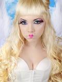 Engelachtig - Mooie Sexy Engel Royalty-vrije Stock Afbeeldingen
