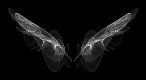 Engelachtige Vleugels royalty-vrije stock afbeelding