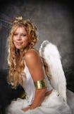 Engelachtige Vrouw Royalty-vrije Stock Foto's