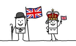 Engeland! Stock Afbeeldingen