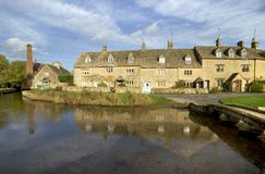 Engeland, Cotswolds, Lagere Slachting royalty-vrije stock afbeelding
