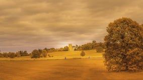 Engeland in de Herfst stock foto