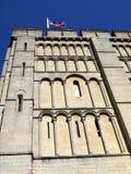 Engeland: Het kasteeldetail van Norwich Stock Foto's