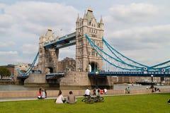 Engeland, Londen, torenbrug Royalty-vrije Stock Foto's