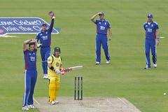 2012 Engeland v Australië 4de internationale dag Stock Afbeeldingen