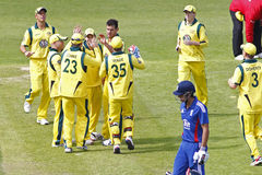 2012 Engeland v Australië 4de internationale dag Royalty-vrije Stock Afbeeldingen
