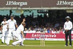 2012 Engeland v 3de de Testgelijke van Zuid-Afrika dag 4 Stock Afbeeldingen