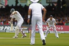 2012 Engeland v 3de de Testgelijke van Zuid-Afrika dag 1 Royalty-vrije Stock Foto