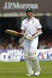 2012 Engeland v 3de de Testgelijke van Zuid-Afrika dag 4 Stock Fotografie