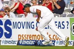 2012 Engeland v 3de de Testgelijke van Zuid-Afrika dag 4 Stock Foto