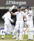 Engeland v 3de de Testgelijke van Zuid-Afrika dag 5 Royalty-vrije Stock Foto's