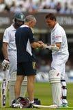 2012 Engeland v 3de de Testgelijke van Zuid-Afrika dag 4 Stock Afbeelding