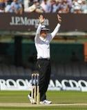 Engeland v 3de de Testgelijke van Zuid-Afrika dag 5 Stock Afbeeldingen