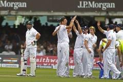 2012 Engeland v 3de de Testgelijke van Zuid-Afrika dag 1 Stock Fotografie