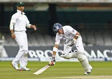 Engeland v 3de de Testgelijke van Zuid-Afrika dag 5 Stock Foto
